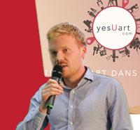 Martin Vergotte, diplômé d'ICAM CEO yesUart 1er Prix Concours Créa'Sup 2015 Remise des prix du concours Créa'Sup 2015 Salon Créer - Septembre 2015