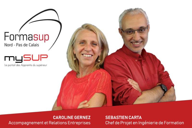 Formasup - Caroline Gernez -  Sébastien Carta